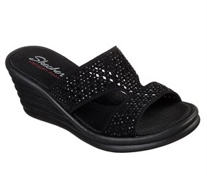 Black Skechers Rumblers Wave - Ibiza Summer
