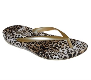 Gold Skechers Bungalow - Summer Kitty