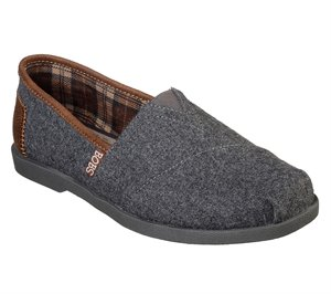 Gray Skechers BOBS Chill Luxe - Fall Wonders