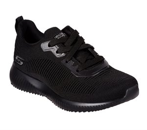 Black Skechers BOBS Sport Squad - Tough Talk