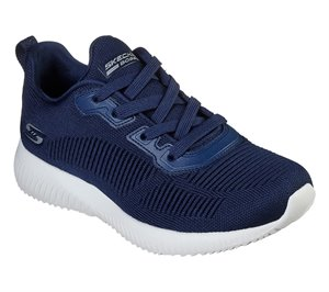 Navy Skechers BOBS Sport Squad - Tough Talk