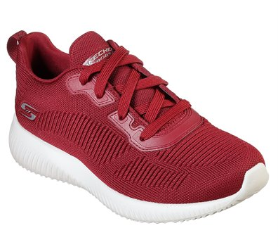 Red Skechers BOBS Sport Squad - Tough Talk - FINAL SALE