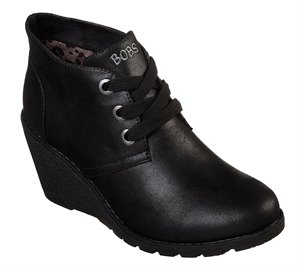 Black Skechers BOBS Tumble Weed - Goin West