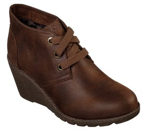 Brown Skechers BOBS Tumble Weed - Goin West