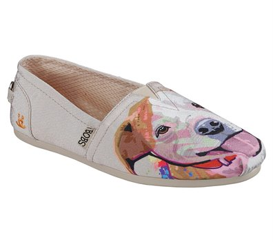 Natural Skechers EXCLUSIVE BOBS Plush - Paw-Fection Angel