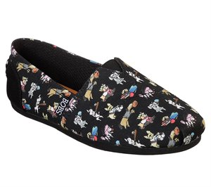 Black Skechers BOBS Plush - Doggie Daycare