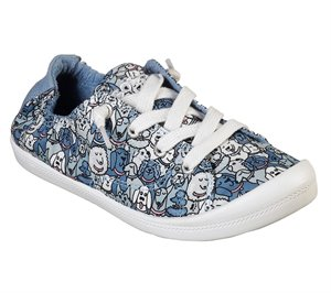 Multi Blue Skechers BOBS Beach Bingo - Woof Pack