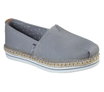 Gray Skechers BOBS Breeze - New Discovery - FINAL SALE
