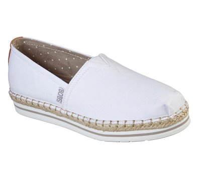 White Skechers BOBS Breeze - New Discovery
