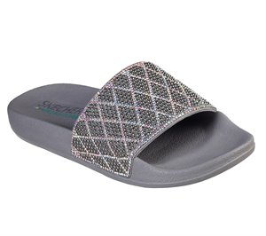 Silver Skechers Pop Ups - Dazzle Razzle - FINAL SALE