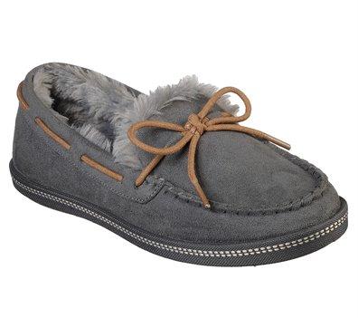 Gray Skechers Cozy Campfire - Toasty Ties