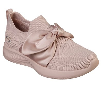 Pink Skechers BOBS Sport Squad 2 - Bow Beauty