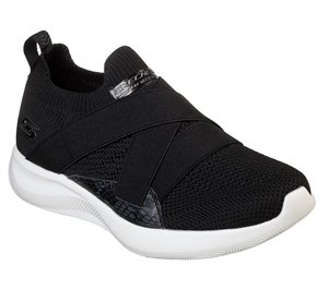 Black Skechers BOBS Sport Squad 2 - Winning