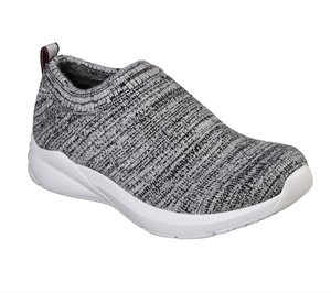 Gray Skechers BOBS Sport Aria - Softy