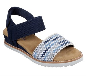 Multi Navy Skechers BOBS Desert Kiss - Warm Breeze - FINAL SALE