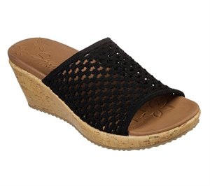 Black Skechers Beverlee - Golden Sky
