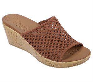 Brown Skechers Beverlee - Golden Sky