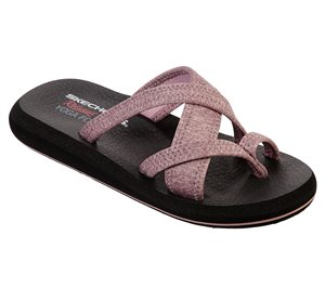 Pink Skechers Relaxed Fit: Asana - Blossom Beauty