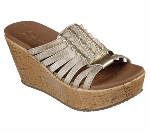 Gold Skechers Brit - Girl Wonder