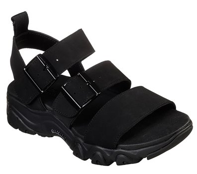Black Skechers D'Lites 2.0 - Cool Cosmos