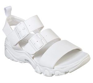 White Skechers D'Lites 2.0 - Cool Cosmos