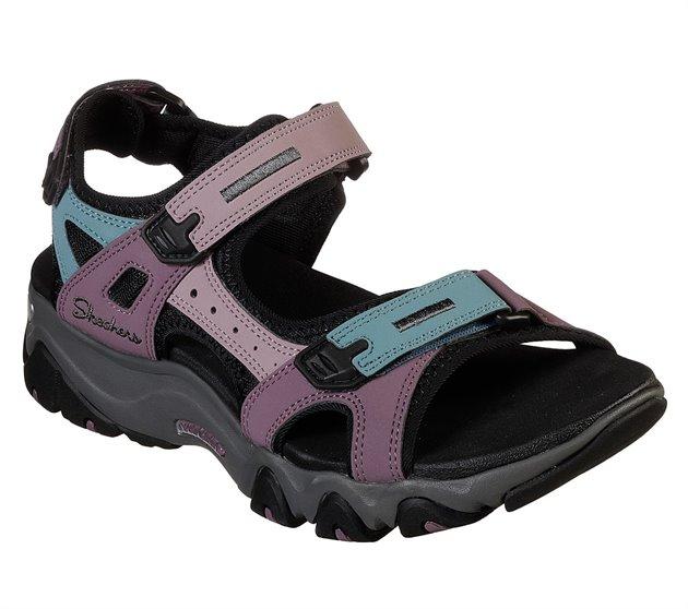 ley Además completamente  Skechers D'Lites 2.0 - Kilowatt in Pink - Skechers Womens Sandals on  Shoeline.com