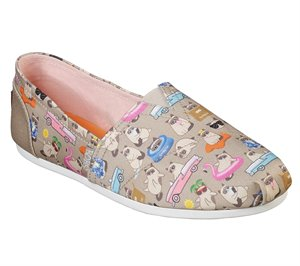 Multi Natural Skechers BOBS Plush - Grumpy Vacay