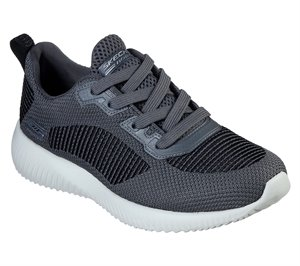 Gray Skechers BOBS Sport Squad - Turn Up
