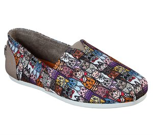 Multi Skechers BOBS Plush - Uptown Kitty