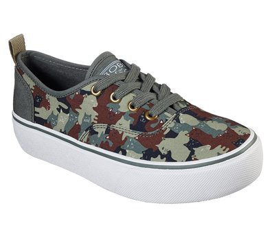 Camouflage Skechers BOBS Marley - Outa' Sight