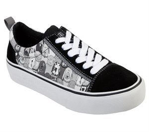 Gray Black Skechers BOBS Marley - Party Favor - FINAL SALE