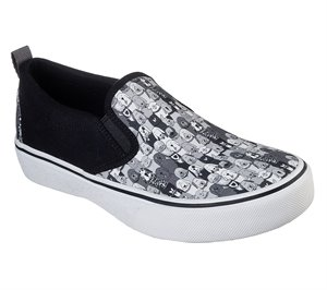 Gray Black Skechers BOBS Marley Jr - Wag Swag