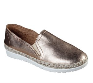 Gold Skechers BOBS Flexpadrille 3.0