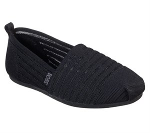 Black Skechers BOBS Plush - Golden Hour