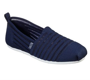 Navy Skechers BOBS Plush - Golden Hour