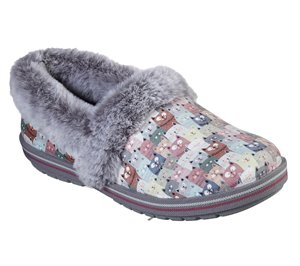 Multi Pink Skechers BOBS Too Cozy - Cuddled Up