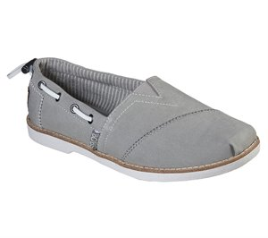 Gray Skechers BOBS Chill Luxe - New Light