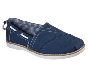 Navy Skechers BOBS Chill Luxe - New Light