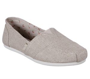 Natural Skechers BOBS Plush - Bohemian Sparkle