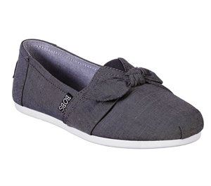 Gray Skechers BOBS Plush - Swing Dance
