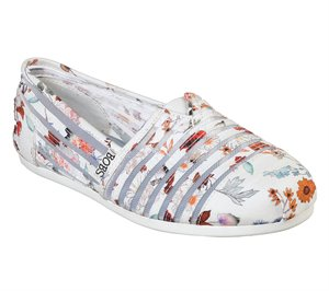 Multi White Skechers BOBS Plush - Daisy Darling