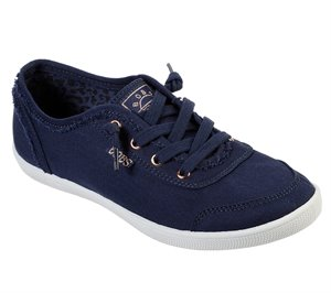 Navy Skechers BOBS B Cute