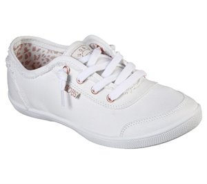 White Skechers BOBS B Cute
