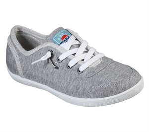 Gray Skechers BOBS B Cute - Track Meet
