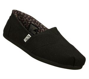 Black Skechers BOBS Plush - Peace and Love