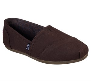 Brown Skechers BOBS Plush - Peace and Love