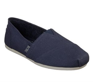 Navy Skechers BOBS Plush - Peace and Love