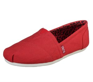 Red Skechers BOBS Plush - Peace and Love