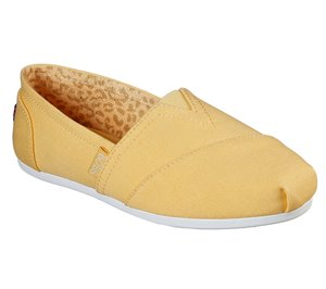 Yellow Skechers BOBS Plush - Peace and Love