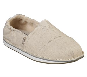 Natural Skechers BOBS Chill - Cross Paths